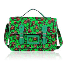 Aktovka Green Owl Design Satchel