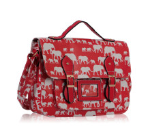 Aktovka Red Elephant Design Satchel