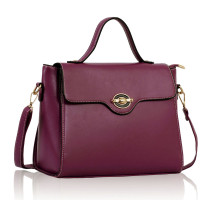 Kabelka Purple Grab Satchel Handbag