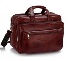Aktovka Burgundy Laptop Office Bag