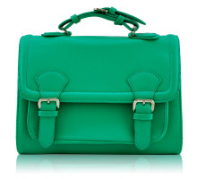 Aktovka Classic Emerald Buckle Detail Fashion Satchel