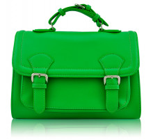 Aktovka Classic Green Buckle Detail Fashion Satchel