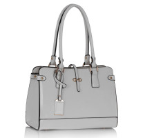 Kabelka L&S Fashion White Grab Shoulder Handbag