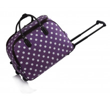 Cestovní taška na kolečkách LS Fashion Purple Travel Luggage With Wheels (42 l)