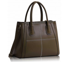 Kabelka Nude Checkered Fashion Tote Handbag