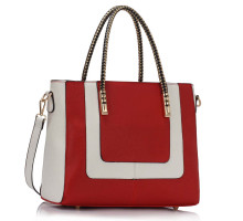 Kabelka Red / White Women's Fashion Tote Bag