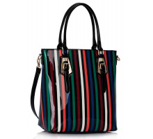 Kabelka Multicolour A Stripe Tote