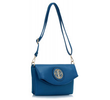 Kabelka Blue Shoulder Cross Body Bag - modrá