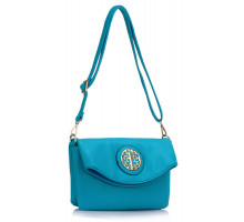 Kabelka Teal Shoulder Cross Body Bag