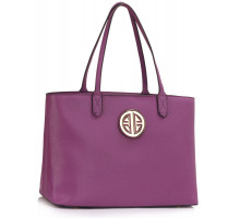 Kabelka Purple Women's Large Tote Shoulder Bag