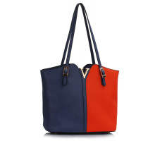 Kabelka Blue / Orange Fashion Shoulder Bag