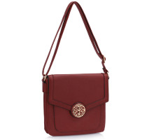 Kabelka Burgundy Shoulder Cross Body Bag
