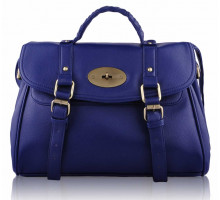 Aktovka Navy Blue Buckle Detail Fashion Tote Bag