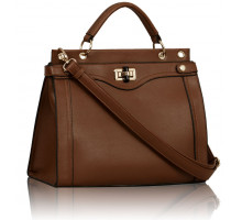 Kabelka  Brown Fashion Tote Handbag