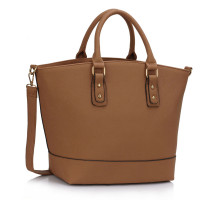 Kabelka Dark Nude Fashion Tote With Long Strap