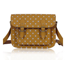 Aktovka Womens Nude Spotty Satchel Shoulder Handbag