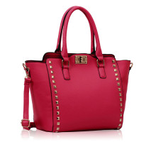 Kabelka  Fuchsia Double- Handle Shoulder Tote Bag