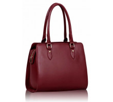 Kabelka Burgundy Shoulder Handbag