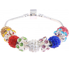 Náramek Multi Colour Crystal Bracelet