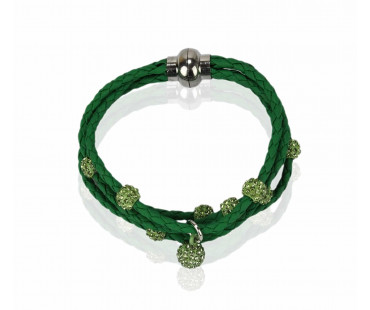Náramek Light Green Crystal Bracelet