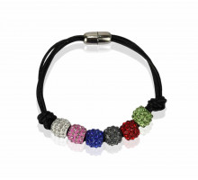 Náramek Multi Coloured Crystal Bracelet