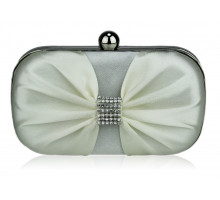 Psaníčko Ivory Satin Clutch purse