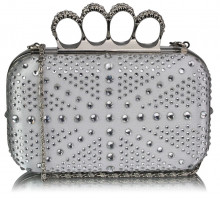 Psaníčko Ivory Women's Knuckle Rings Evening Bag