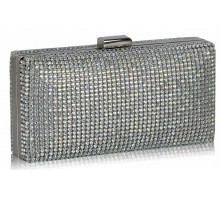 Psaníčko White Sparkly Evening Clutch