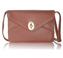 Psaníčko Brown Womens Envelop Clutch