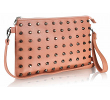 Psaníčko - Pink Purse With  Stud Detail