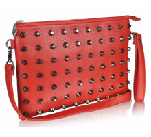 Psaníčko Red Purse With Stud Detail - červené