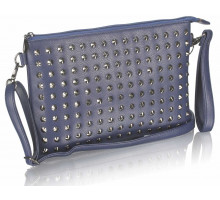 Psaníčko Navy Purse With Stud Detail - modré