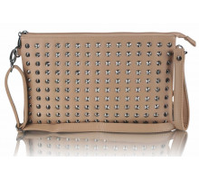Psaníčko - Nude Purse With  Stud Detail