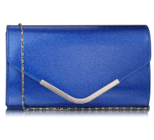 Psaníčko Blue Large Flap Clutch purse - modré
