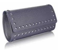 Psaníčko Navy Studded Clutch Evening Bag