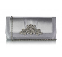 Psaníčko lver Crystal Flower Evening Clutch Bag