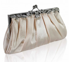Psaníčko Nude Crystal Evening Clutch Bag