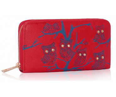 Peněženka Red Owl Design Purse/Wallet